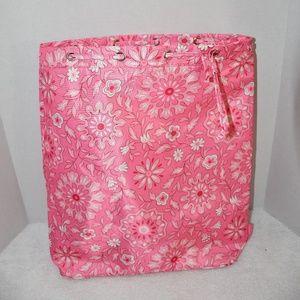 Longaberger  Pink Passion  Backsack
